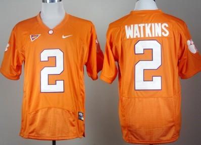 Clemson Tigers #2 Sammy Watkins Orange Pro Combat Jersey