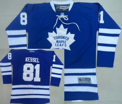 2f197e44f45 ... Toronto Maple Leafs 81 Phil Kessel Blue Third Kids Jersey Phil Kessel  Toronto Maple Leafs Game Used 2014 Winter Classic ...