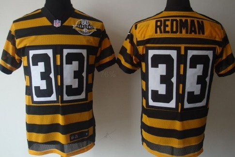 52773a2fc ... Nike Pittsburgh Steelers 33 Isaac Redman Yellow With Black Throwback  80TH Jersey NFL Womens Elite Nike Pittsburgh Steelers 56 LaMarr Woodley  White ...