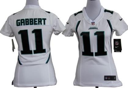 cd08f0a5add nike jacksonville jaguars 11 blaine gabbert white game womens jersey
