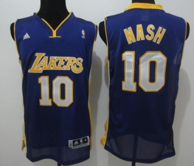 58ff9422141 buy los angeles lakers 10 steve nash gray with black pinstripe jersey 7ccd6  c05ce