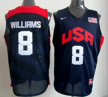 e24f29a17f1 where can i buy 2012 olympics team usa 8 deron williams revolution 30  swingman blue jersey