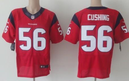 nike houston texans 56 brian cushing red elite jersey