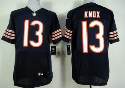 dbb3625df30 ... canada nike chicago bears 13 johnny knox blue elite jersey brian  urlacher mens limited navy db04c