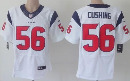 nike houston texans 56 brian cushing white elite jersey