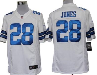 nike dallas cowboys 28 felix jones white limited jersey