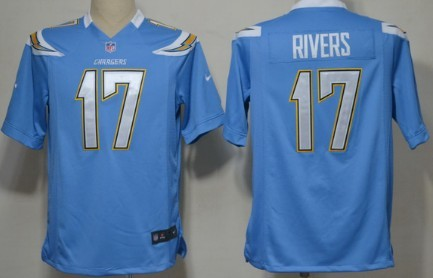 Nike San Diego Chargers  17 Philip Rivers Navy Blue Game Jersey on ... ae00e3421