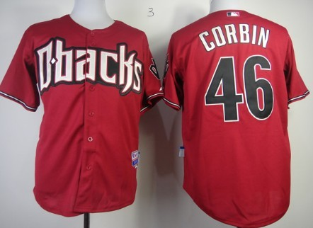 776d3c563 ... Baseball Jersey Arizona Diamondbacks 46 Patrick Corbin Red Jersey ...