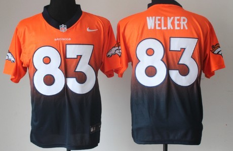7e9242837 Nike Denver Broncos  52 Wesley Woodyard 2013 Orange Elite Jersey on ...