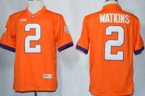 Clemson Tigers #2 Sammy Watkins 2013 Orange Limited Jersey