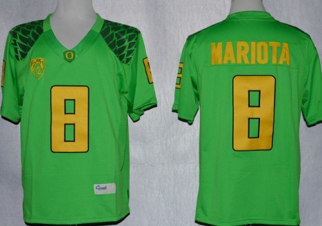 new concept 601fe ad779 youth oregon ducks 8 marcus mariota 2013 white limited kids ...