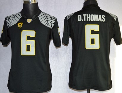 Oregon Ducks #6 DeAnthony Thomas 2013 Black Limited Womens Jersey