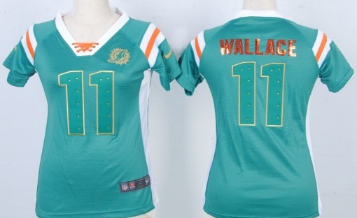 d93c8356 nike miami dolphins 11 mike wallace pink love womens jersey