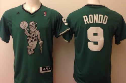 Boston Celtics #9 Rajon Rondo Revolution 30 Swingman 2014 ...