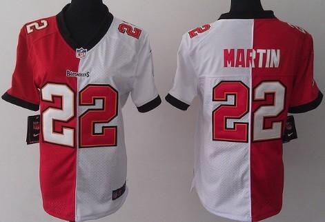 ce5acc1fa33 ... Nike Tampa Bay Buccaneers 22 Doug Martin RedWhite Two Tone Womens Jersey  ...