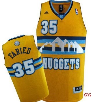 Denver Nuggets  34 JaVale McGee Yellow Swingman Jersey on sale e562378e8