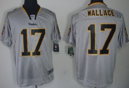 99e689107 ... Nike Pittsburgh Steelers 17 Mike Wallace Lights Out Gray Elite Jersey  Nike Steelers 92 James Harrison White Youth Stitched NFL Elite Jersey  Outlet ...