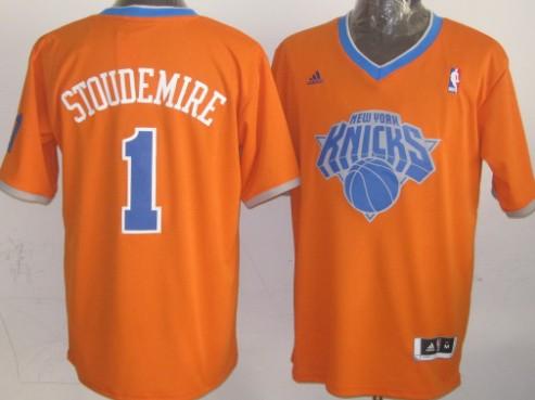 d7d988237436 ... Carmelo Anthony - Mens Medium - 110.00 New York Knicks 1 Amare  Stoudemire Revolution 30 Swingman 2013 Christmas Day Orange Jersey .