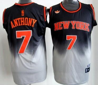 designer fashion de292 7226a new york knicks black and orange jersey