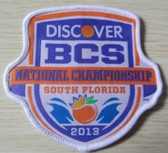 2013 BCS Bowl Champions Patch