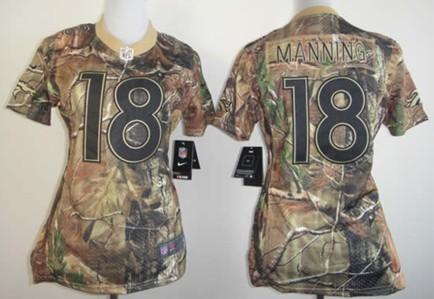 quality design 8aa43 fa4aa Nike Denver Broncos #58 Von Miller Realtree Camo Womens ...