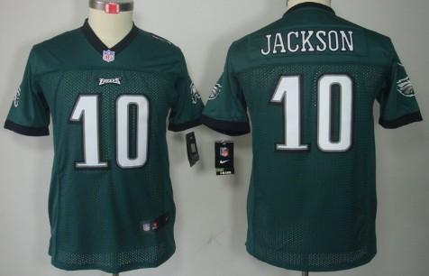 e3b859328ca ... Michael Vick Game White Jersey 69.99 Nike Philadelphia Eagles 10 DeSean  Jackson Dark Green Limited Kids Jersey ...