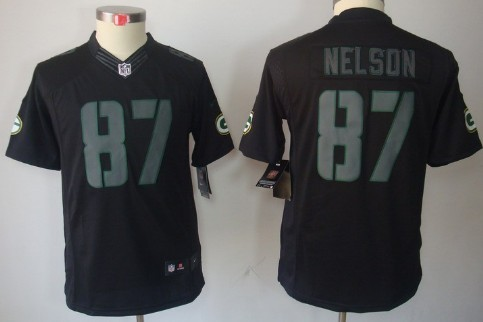 0804cad43 ... Aaron Rodgers Nike 2017 NFL Mens Salute To Service Jersey Nike Green  Bay Packers 87 Jordy Nelson Black Impact Limited Kids Jersey ...