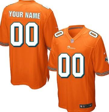 c3f009ee863 Men s Nike Miami Dolphins Customized White Elite Jersey on sale