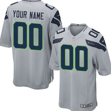 ef72f4f1a0e Men s Nike Seattle Seahawks Customized White Limited Jersey on sale ...