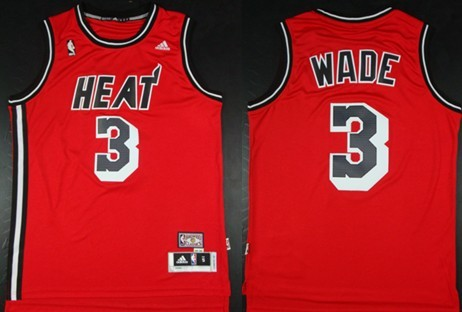 new concept ed096 a9edd dwyane wade red throwback jersey