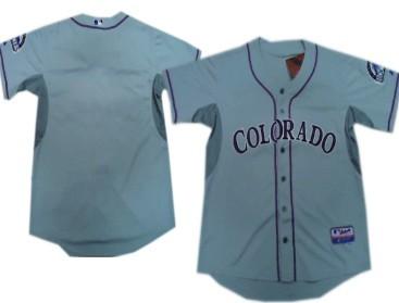 ae317b77d Men s Colorado Rockies Customized 2012 Gray Jersey on sale