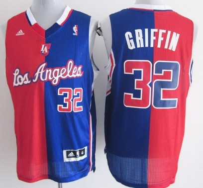 73eb71c90ce ... Los Angeles Clippers 32 Blake Griffin Revolution 30 Swingman RedBlue  Two Tone Jersey Los Angeles Clippers 11 Jamal Crawford ...