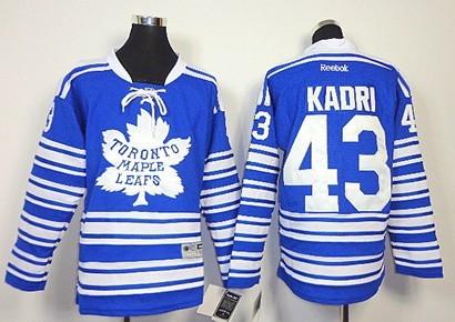 9474234ca Toronto Maple Leafs  43 Nazem Kadri 2014 Winter Classic Blue Kids Jersey