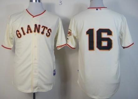 ... San Francisco Giants 16 Angel Pagan Cream Jersey ...