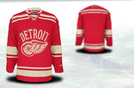 39c1f1f8 ... White Jersey Youths Detroit Red Wings Customized 2012 Winter Classci Red  Jersey Youth Customize customize Reebok Red Authentic ...