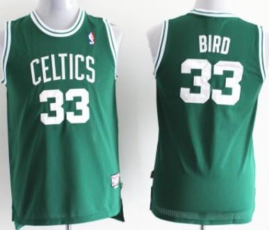 34dd3f05fab boston celtics 33 larry bird green swingman throwback kids jersey