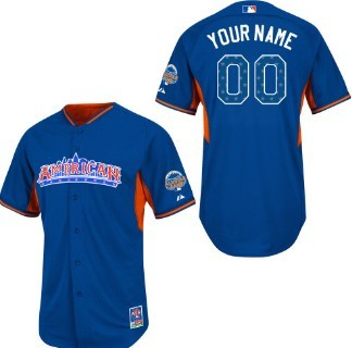 Kids' American League Customized 2013 All-Star Blue Jersey