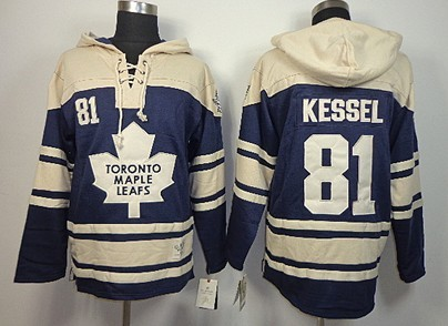 6215817e42a ... Old Time Hockey Toronto Maple Leafs 81 Phil Kessel Navy Blue Hoodie ...