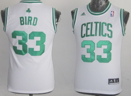 reputable site 484f1 075b0 Boston Celtics #33 Larry Bird White Kids Jersey on sale,for ...