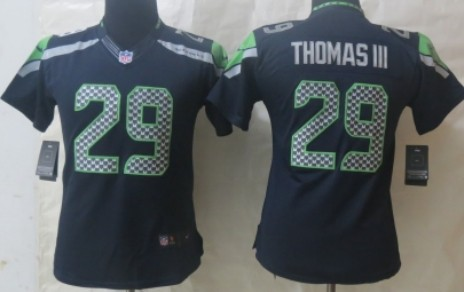 Cheap Nike Seattle Seahawks #29 Earl Thomas III Navy Blue Limited Jersey  hot sale