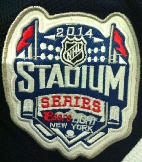 2014 New York Rangers Stadium Series Patch