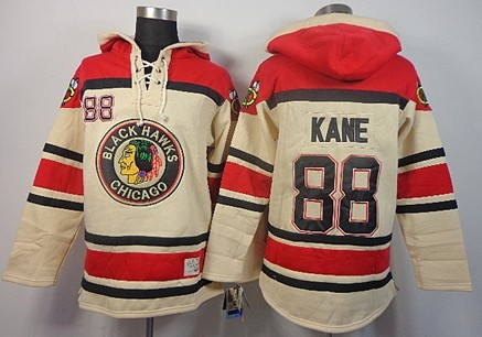 old time hockey chicago blackhawks 88 patrick kane cream hoodie . a571bd967