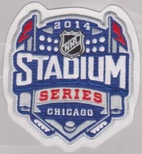 2014 Chicago Blackhawks Stadium Series Patch