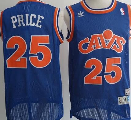 5cdbd3c95 ... Cleveland Cavaliers 25 Mark Price Blue Swingman Throwback Jersey NBA  Cleveland Cavaliers 43 Brad Daugherty ...