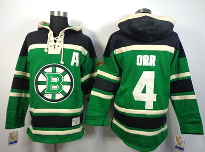 96cfed26e1d old time hockey boston bruins 4 bobby orr green hoodie