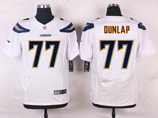 27ce3d656 ... best price mens san diego chargers 77 king dunlap white road nfl nike  elite jersey youth