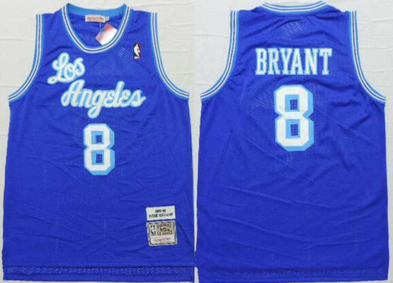 cf69f6423060 ... Replica Swingman Jersey - Purple Adidas Canada Mens Los Angeles Lakers  8 Kobe Bryant 1996-97 Blue Hardwood Classics Soul Swingman ...