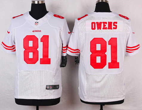 Wholesale NFL Jerseys - Men's San Francisco 49ers #88 Garrett Celek White Road Player NFL ...