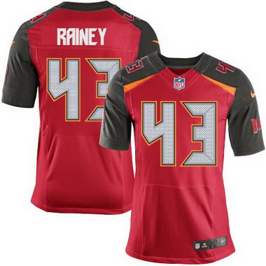 Cheap NFL Jerseys Wholesale - Men's Tampa Bay Buccaneers #43 Bobby Rainey Red Team Color NFL ...