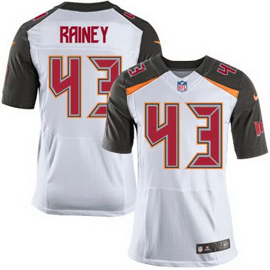 Cheap NFL Jerseys - Men's Tampa Bay Buccaneers #43 Bobby Rainey Red Team Color NFL ...